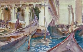 Sargent: The Piazetta, Venice
