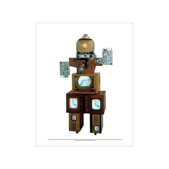 Nam June Paik: Uncle mini print