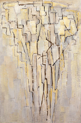 Piet Mondrian: The Tree A