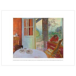 Pierre Bonnard: Dining Room in the Country exhibition print