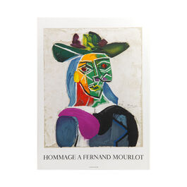 Pablo Picasso: Hommage a Fernand Mourlot unframed lithographic poster