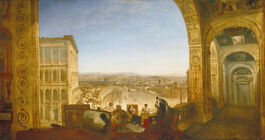 Turner: Rome, from the Vatican