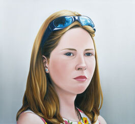 Lisa Milroy: Girl with Sunglasses
