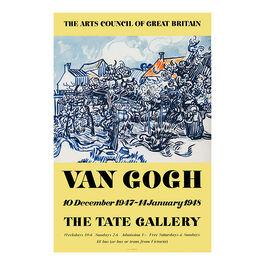 Vincent van Gogh: 1947 vintage poster