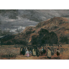 Cox: A Welsh Funeral, Betwys-y-Coed