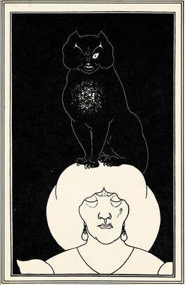 Aubrey Beardsley: The Black Cat