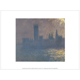 Monet: Houses of Parliament, Sunlight Effect (exhibition print)