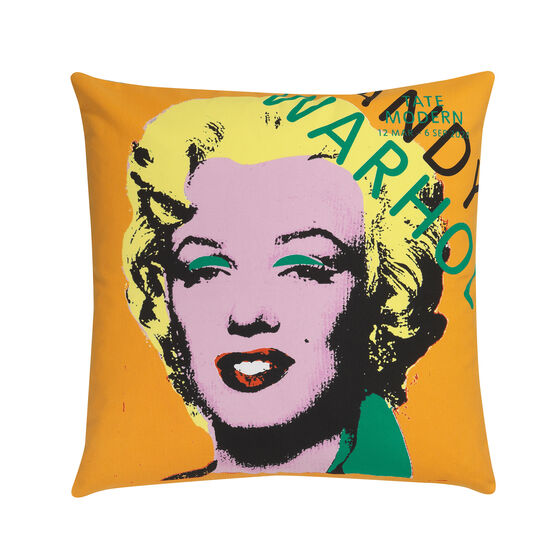 Andy Warhol colourful Marilyn cushion cover