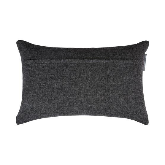 Eleanor Pritchard grey block cushion