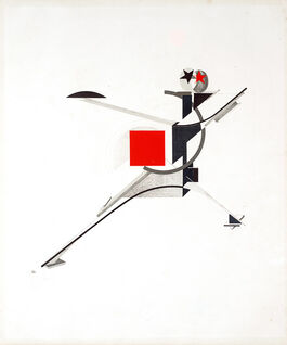 Lissitzky: 10. New Man, from Figurines