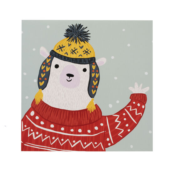 Georgia Smelt Beary Christmas cards (pack of 6)