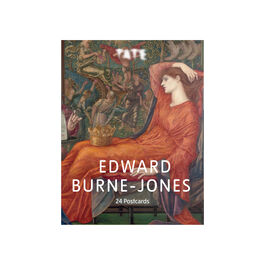 Edward Burne-Jones postcard book