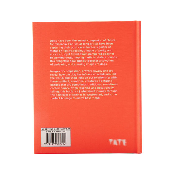Signed edition of The Dog back cover