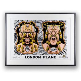 Gilbert & George, London Plane, 2006