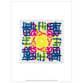 Hansjörg Mayer alphabet square (unframed print)