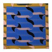 1973 print silk scarf