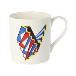 Alphabet of art mug - V