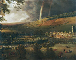 Siberechts: Landscape with Rainbow, Henley-on-Thames