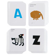 Anteaters to Zebras card game