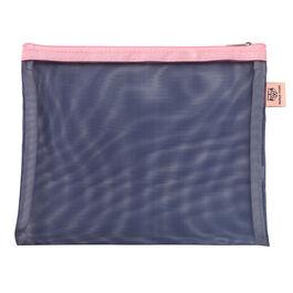Indigo mesh pouch