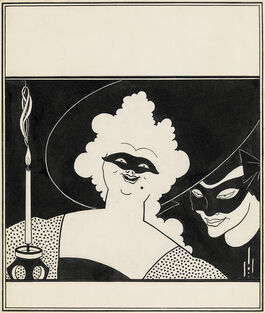 Aubrey Beardsley: Cover Design for 'The Yellow Book'
