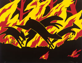 Nicholas Monro: Animals Running Through Fire