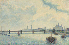 Pissarro: Charing Cross Bridge, London