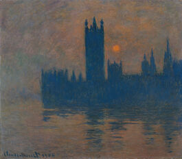Monet: Houses of Parliament, Sunset