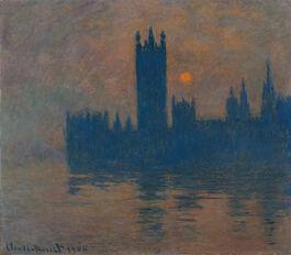 Monet: Houses of Parliament, Sunset