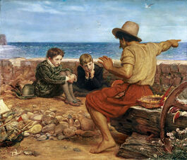 Millais: The Boyhood of Raleigh