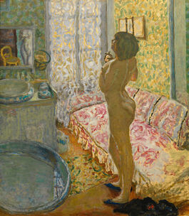 Pierre Bonnard: Nude against the Light