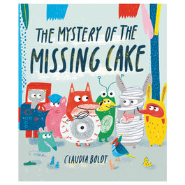 The Mystery of the Missing Cake (paperback)