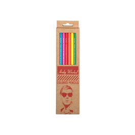 Andy Warhol Philosophy 2.0 coloured pencils