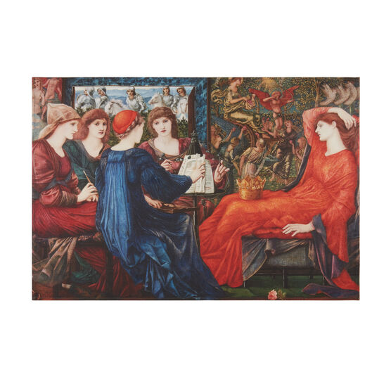 Edward Burne-Jones Laus Veneris tea towel