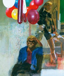 Blake: Portrait of David Hockney in a Hollywood Spanish Interior