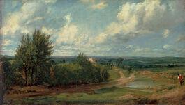 John Constable: Hampstead Heath, 'The Salt Box'