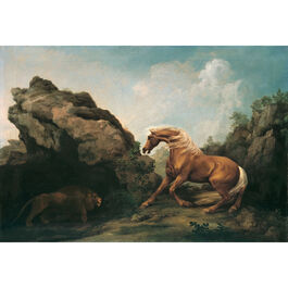 Stubbs: Horse Frightened by a Lion
