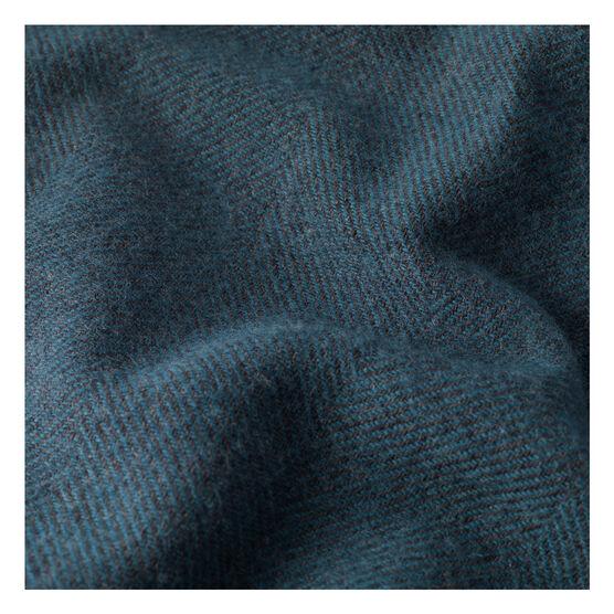 Larkspur blue woven blanket