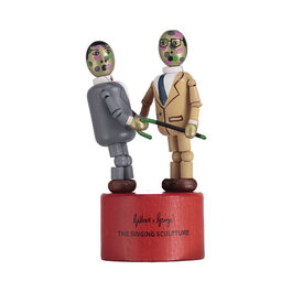Gilbert and George wooden toy