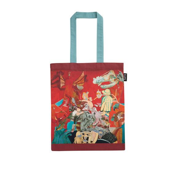 Paula Rego Self-portrait in Red tote bag