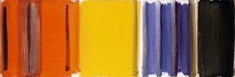 Patrick Heron: Scarlet, Lemon & Ultramarine