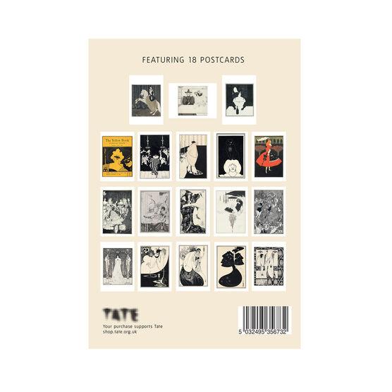 Aubrey Beardsley postcard book