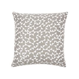 Anni Albers grey Intaglio cushion cover