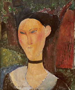 Modigliani: Woman with Velvet Ribbon