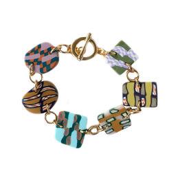 Opal Rock Candy Slice bracelet