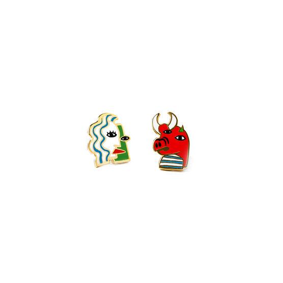 Cubist earrings
