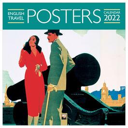 English Travel Posters 2022 wall calendar