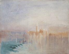 Turner: Venice: San Giorgio Maggiore at Sunset