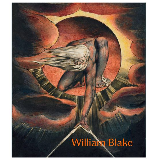 William Blake exhibition book (paperback)
