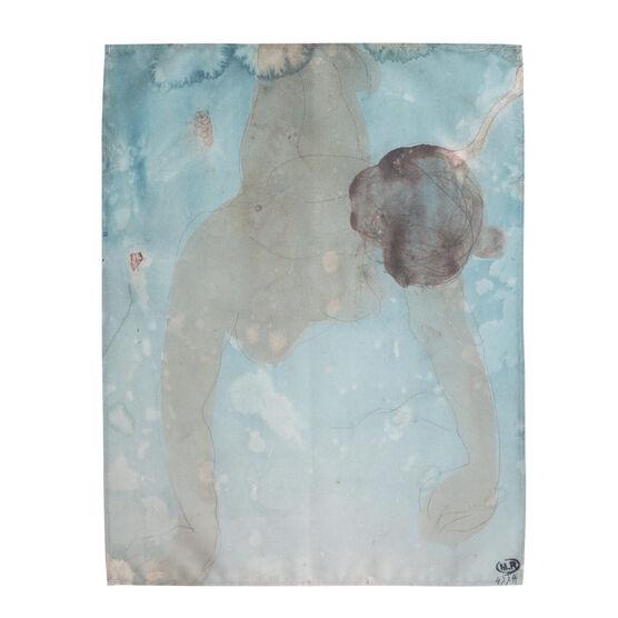 Auguste Rodin: Femme nue tea towel